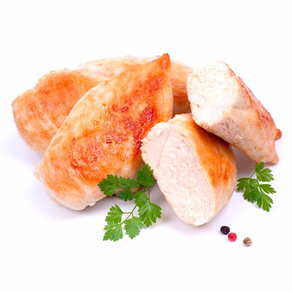 Plain Chicken Breast All Natural 9 X 4 Oz 2 25 Lbs Total Gourmet Gary S Natural Foods