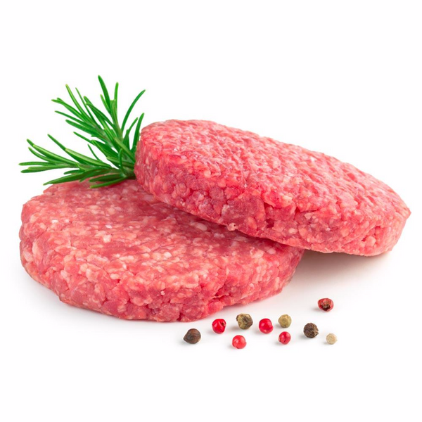 Steak Burgers USDA, All Natural, Choice (12 x 8 Oz = 6 Lbs Total)