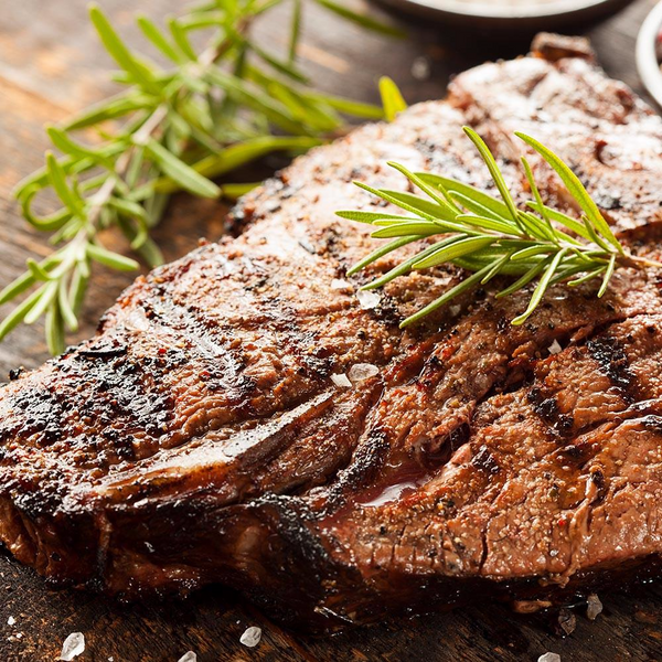 T-Bone Steaks USDA, All Natural, Choice (4 x 14oz = 3.25Lbs Total)