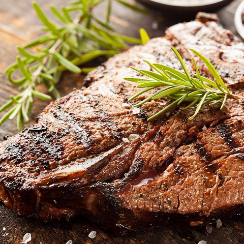T-Bone Steaks USDA, All Natural, Choice (4 x 17 Oz = 4.25 Lbs Total)