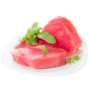 Ahi Tuna Steak Sushi Grade - Wild Caught  (6 x 6 Oz = 2.25 Lbs Total)