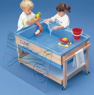 SAND & WATER CENTRES- Wooden Frame Tables