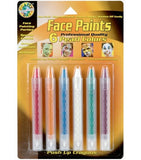 FACE PAINTING- CRAYONS- Regular, Neon or Pearl or Push-up