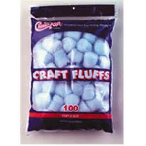 COTTON FLUFFS- Coloured