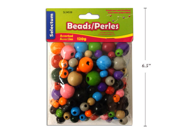 BEADS- Wooden