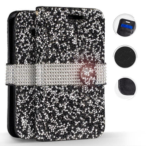 Samsung Galaxy Note 8 Full Diamond Wallet Cover