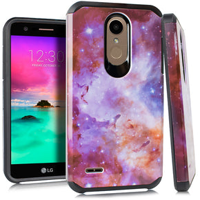 LG K30 Hybrid Design Case Cover