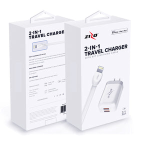 Zizo 2 in 1  iPhone, iPad, and iPod Home Charger