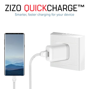 Micro USB Charging Home Cable Combo