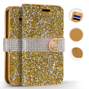 Samsung Galaxy S9 Plus Full Diamond Wallet Cover