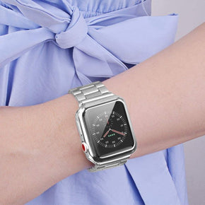 Apple iWatch 42mm Chrome Gummy Case Cover