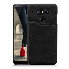 LG G6 Leather Wallet Case Cover