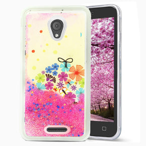 Alcatel Verso Glitter Design Case Cover