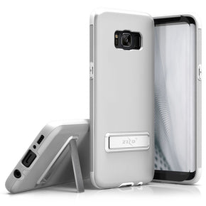 Samsung Galaxy S8  Metallic Hybrid Case Cover