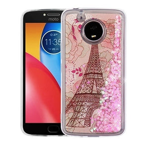 Motorola E4 Plus Glitter Design Case Cover