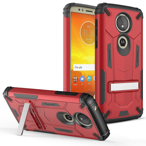 Motorola E5 Plus Kickstand Case Cover