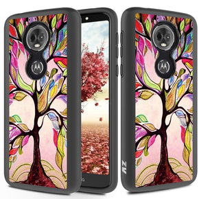 Motorola E5 Plus Hybrid Design Case Cover