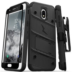 Samsung Galaxy J7 (2018) Hybrid Bolt Case Cover