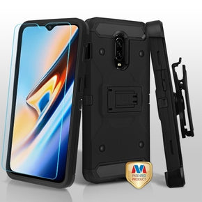 One Plus 6T Hybrid Holster Clip Case Cover