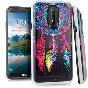 LG Stylo 4 Brushed Design Case Cover