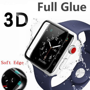 Apple iWatch 38mm Full Glue Tempered Glass Cover