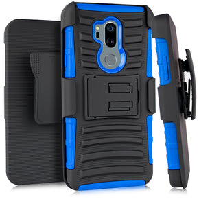 LG G7 (ThinQ ) Hybrid Holster Combo Clip Case Cover