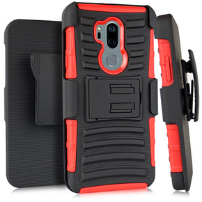 LG G7 ThinQ Hybrid Holster Combo Clip Case Cover
