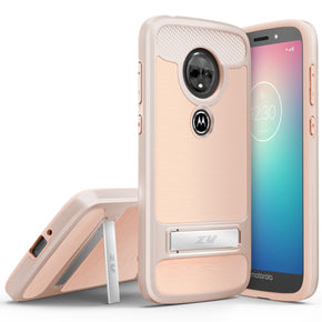 Motorola E5 Plus TPU Kickstand Case Cover