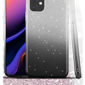 Apple iPhone 11 Pro Max Gradient TPU Glitter Case Cover