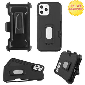 Apple iPhone 12 Pro Max (6.7) Hybrid Clip Card Case Cover