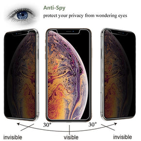 Apple iPhone 11 Pro Max Privacy Tempered Glass