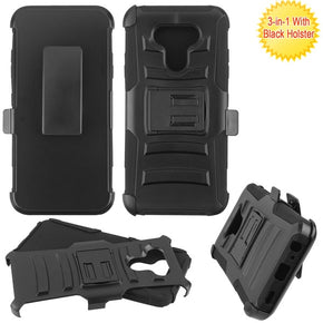LG Harmony 4 Holster Clip Case Cover