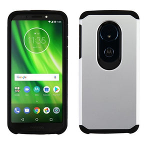 Motorola Moto G6 Play Solid Hybrid Case Cover