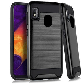 Samsung Galaxy A10e Brushed Hybrid Case Cover