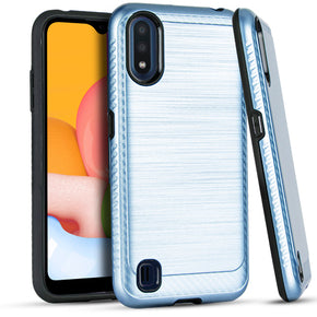 Samsung A01 Hybrid Brushed Case Cover