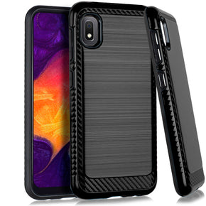 Samsung Galaxy A10E Brushed Case Cover