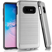 Samsung Galaxy S10 Lite Brushed Hybrid Case Cover