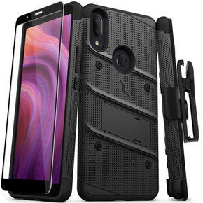Alcatel 3V 2019 Bolt Hybrid Case Cover