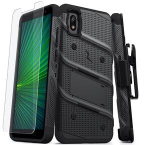 Alcatel Apprise Bolt Hybrid Clip Case Cover