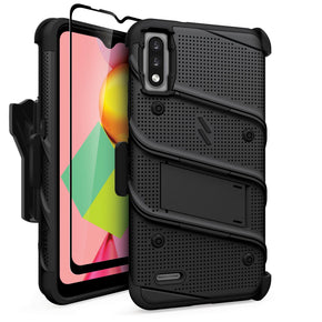 LG K22 Bolt Hybrid Clip Case Cover