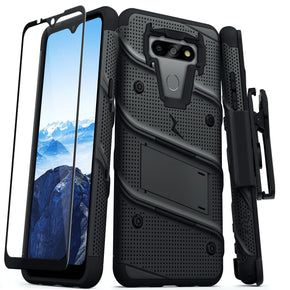 LG Harmony 4 Hybrid Bolt Case Cover