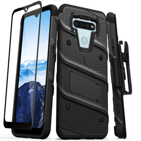LG K51 Combo Bolt Series Hybrid Case Cover