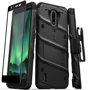 Nokia C2 Tava Bolt Hybrid Case Cover