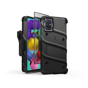 Samsung Galaxy A51 (5G) Bolt Series Hybrid Case Cover