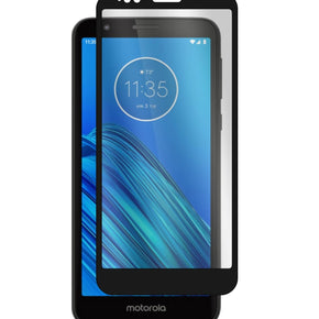 Motorola Moto E6 Full Covered Tempered Glass