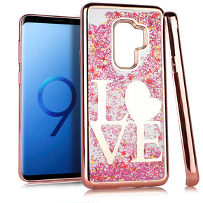 Samsung Galaxy S9 Plus TPU Glitter Design Case Cover