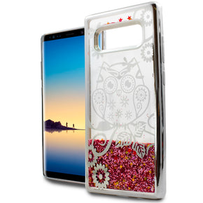 Samsung Galaxy Note 8 TPU Glitter Design Case Cover