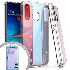 Samsung Galaxy A20 Mirror Hybrid Case Cover