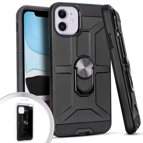 Apple iPhone 11 Hybrid Magnetic Ring Case Cover