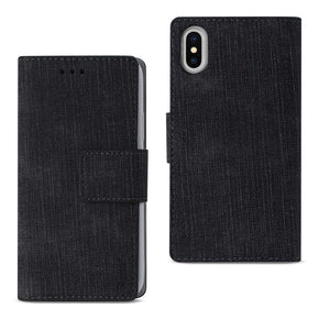 Apple iPhone Xs/X Hybrid Wallet Design Case Cover